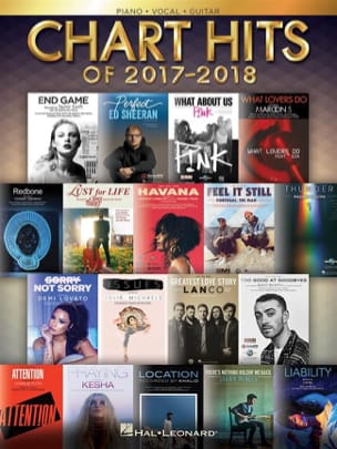 Chart Hits of 2017-2018 Partition Pop / Rock - laflutedepan