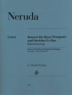 Jean Baptist Georg Neruda - Concerto pour Cor ou Trompette en Mi bémol majeur - Partition - di-arezzo.fr