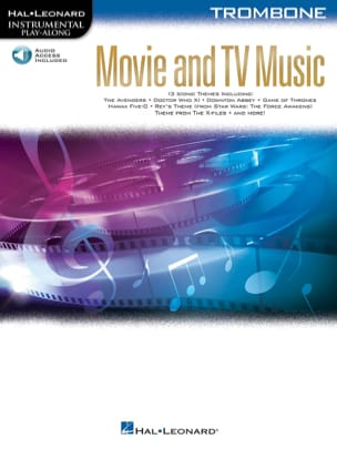 - Movie and TV Music for Trombone - Partition - di-arezzo.fr
