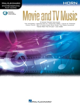 - Movie and TV Music for Horn - Partition - di-arezzo.fr