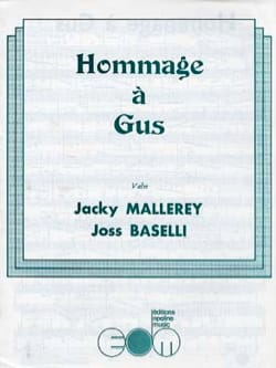 Hommage à Gus Jacky Mallerey & Joss Baselli Partition laflutedepan