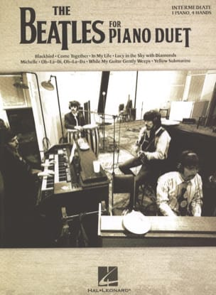 The Beatles for Piano Duet Beatles Partition Piano - laflutedepan
