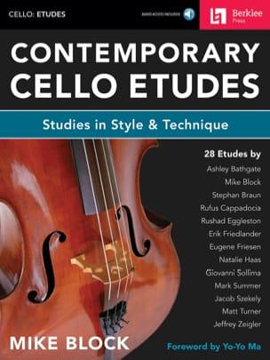 Mike Block - Contemporary Cello Studies - Sheet Music - di-arezzo.co.uk