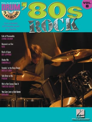 - Drum play-along volume 8 - '80s Rock - Sheet Music - di-arezzo.co.uk