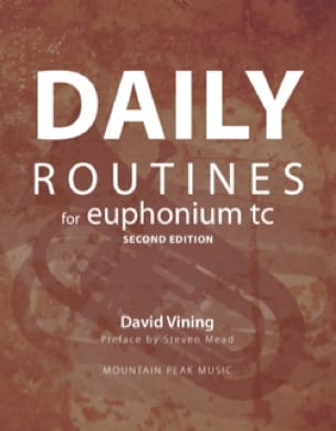 David Vining - Daily Routines for Euphonium TC - Partition - di-arezzo.fr
