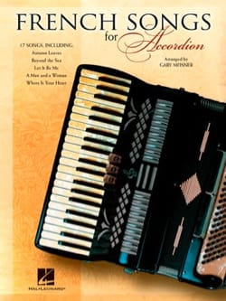 - French Songs for Accordion - Partition - di-arezzo.fr