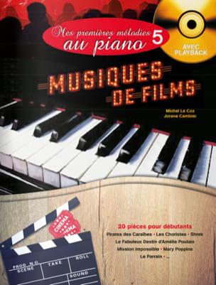 Mes Premières Mélodies au Piano volume 5 - Musiques de Films laflutedepan