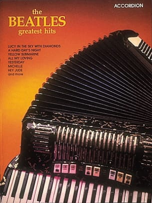 Beatles - Beatles Geatest Hits for Accordion - Sheet Music - di-arezzo.co.uk
