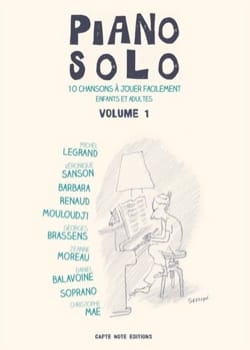 Auteurs Divers - Piano Solo - Volume 1 - Partition - di-arezzo.fr