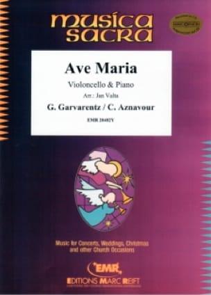 Ave Maria Charles Aznavour Partition Violoncelle - laflutedepan