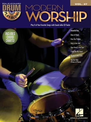 - Drum Play-Along Volume 27 - Modern Worship - Partition - di-arezzo.fr