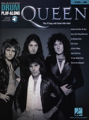 Queen - Drum Play-Along Volume 29 - Queen - Partition - di-arezzo.fr