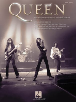 Queen - For Singers with Piano Accompaniment - Partition - di-arezzo.co.uk