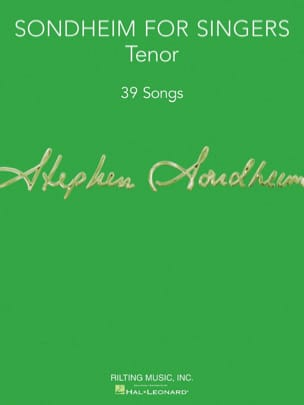 Sondheim for Singers - Tenor Vocal Collection laflutedepan