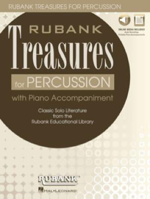 Rubank Treasures for Percussion - Partition - laflutedepan.com
