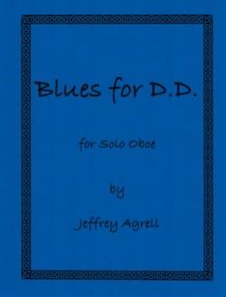 Jeffrey Agrell - Blues for DD for Solo Oboe - Sheet Music - di-arezzo.com