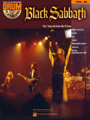 Drum Play-Along Volume 22 - Black Sabbath Black Sabbath laflutedepan