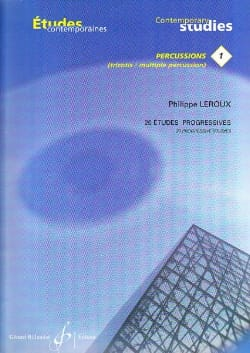 Philippe Leroux - 1-20 Studi progressivi - Partitura - di-arezzo.it