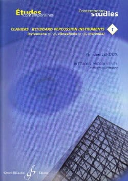 Philippe Leroux - 20 Progressive Studies For Keyboard Volume 1 - Sheet Music - di-arezzo.com