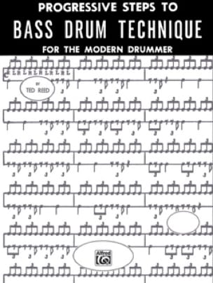 Ted Reed - Progressive Steps To Bass Drum - Sheet Music - di-arezzo.co.uk