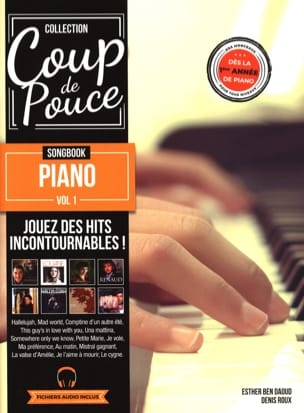COUP DE POUCE - Songbook Piano volume 1 - Partitura - di-arezzo.it