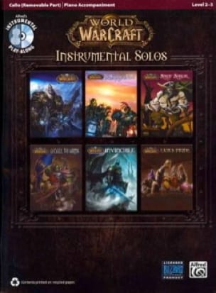 Musique de Jeux Vidéo - World of Warcraft Solos for Strings - Sheet Music - di-arezzo.com