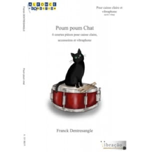 Franck Dentresangle - Poum Poum Chat - Partition - di-arezzo.fr