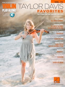 Violin Play-Along Volume 73 - Taylor Davis – Favorites laflutedepan