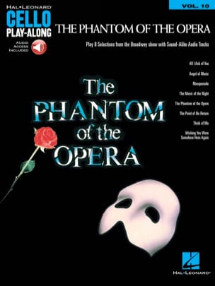 Cello Play-Along Volume 10 - The Phantom of the Opera laflutedepan