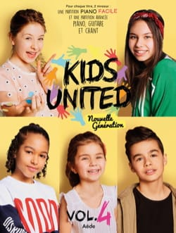 Kids United - Kids United - Volume 4 - Partition - di-arezzo.fr