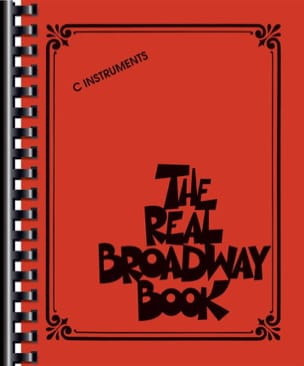 - The Real Broadway Book - C Instruments - Sheet Music - di-arezzo.co.uk