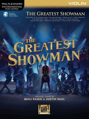 The Greatest Showman - Violon - laflutedepan.com