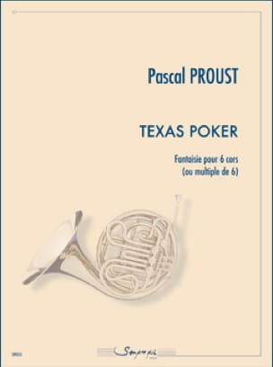 Pascal Proust - Texas Poker - Partition - di-arezzo.fr
