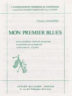 Mon Premier Blues - Charles Lesaffre - Partition - laflutedepan.com