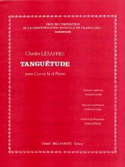 Tanguétude Charles Lesaffre Partition Cor - laflutedepan