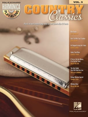 Harmonica Play-Along Volume 5 - Country Classics laflutedepan