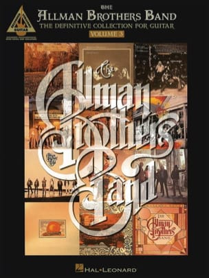 Allman Brothers Band The - The Allman Brothers Band - The Definitive Collection for Guitar - Volume 3 - Partitura - di-arezzo.it