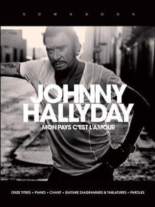 Johnny Hallyday - My country is love - Sheet Music - di-arezzo.com