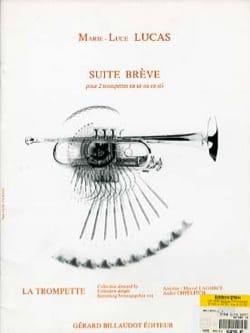 Marie-Luce Lucas - Suite Brève - Partition - di-arezzo.fr