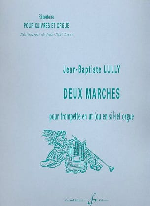 Deux Marches - Jean-Baptiste Lully - Partition - laflutedepan.com