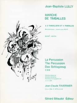 Jean-Baptiste Lully - Walk of Timballs - Sheet Music - di-arezzo.co.uk