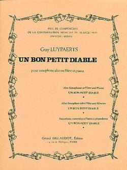 Guy Luypaerts - Un bon petit diable - Partition - di-arezzo.fr
