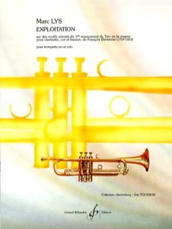 Marc Lys - exploitation - Sheet Music - di-arezzo.co.uk