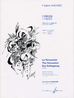 Frédéric Macarez - 7 Pieces - Sheet Music - di-arezzo.co.uk