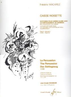 Frédéric Macarez - Caisse Noisette - Partition - di-arezzo.fr