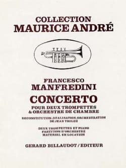 Francesco Manfredini - Concerto - Partition - di-arezzo.fr
