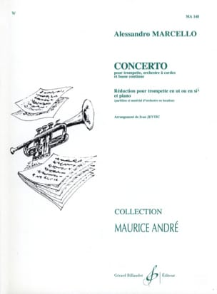 Alessandro Marcello - Concerto - Sheet Music - di-arezzo.co.uk