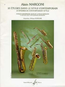 Alain Margoni - 10 Studies - Contemporary Style - Sheet Music - di-arezzo.com