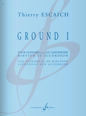 Thierry Escaich - Ground I - Sheet Music - di-arezzo.com