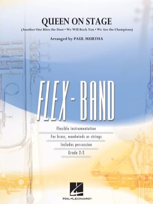 Queen On Stage - Flexband Queen Partition ENSEMBLES - laflutedepan